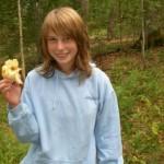 Mushroom picking is fun!